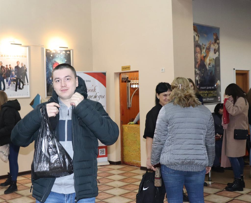 "NCB ""Source of hope"" I organized a screening of the film in Chelyabinsk"