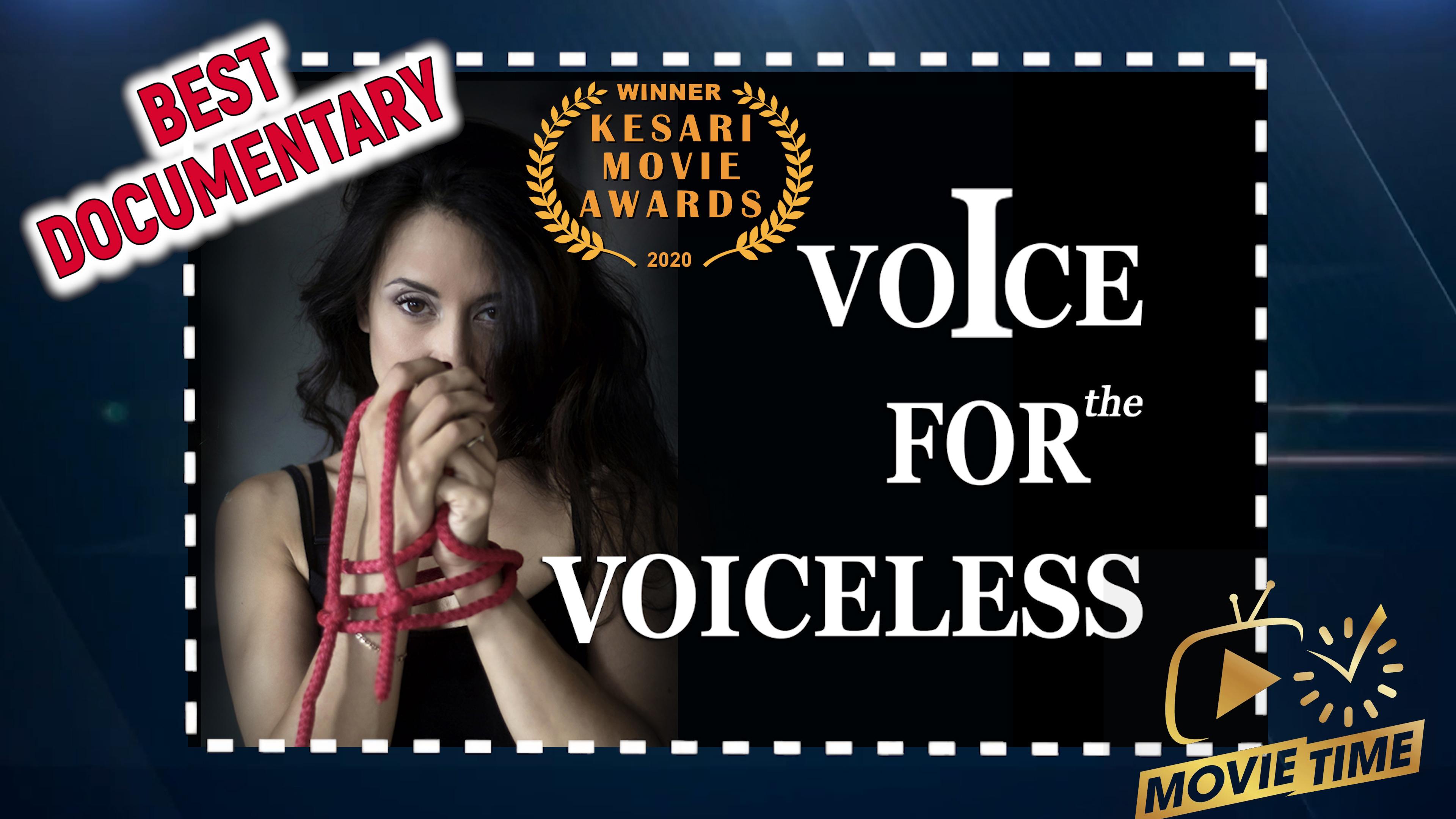 Voice for the Voiceless — WON🏆| Kesari Movie Awards
