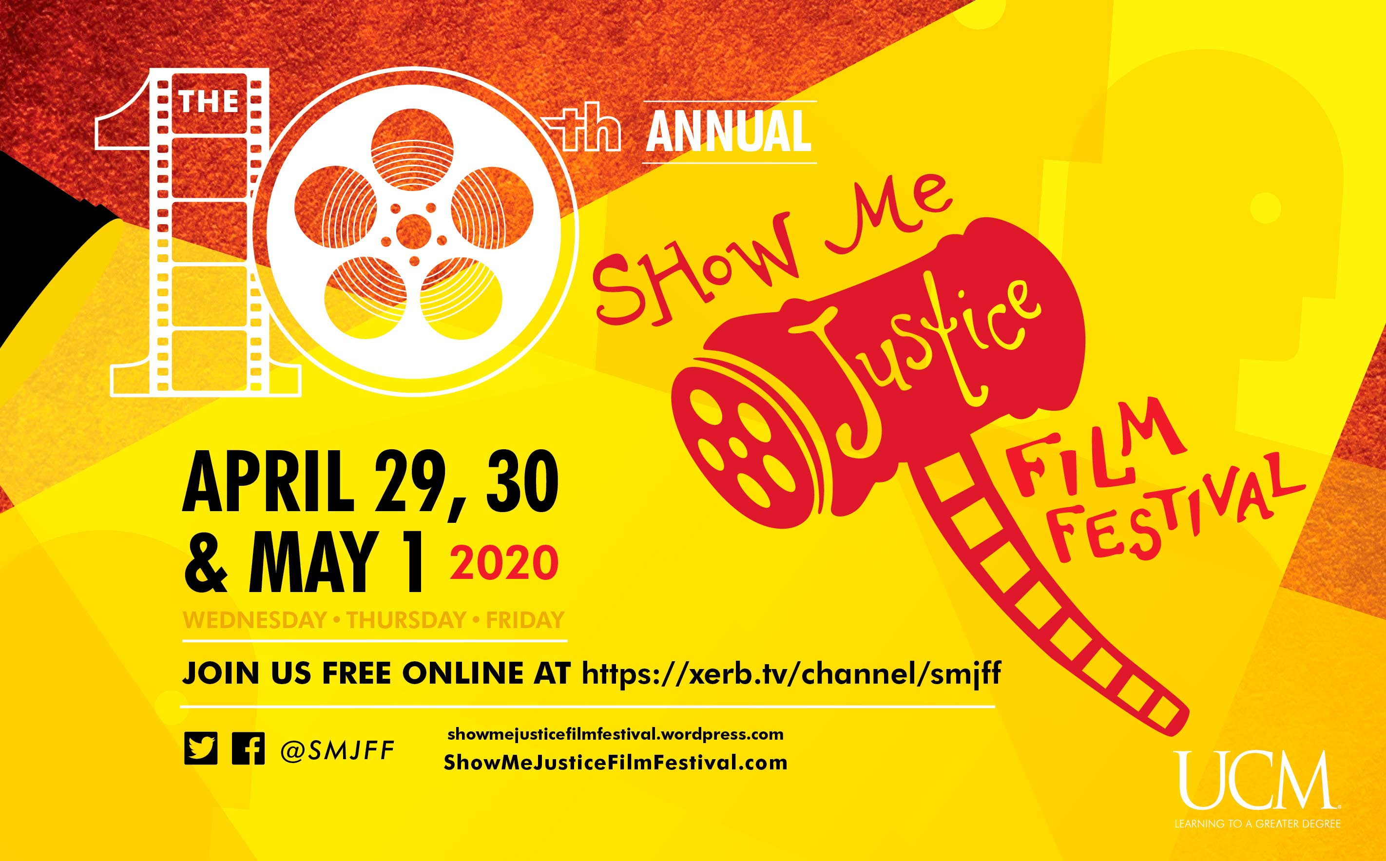 Screening of a film in the USA at the Show Me Justice festival